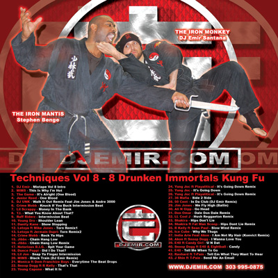 DJ Emir's Drunken Master Mixtape CD