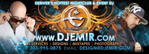 DJ Emir Santana: DJ Services, Design Services, Mixtapes and Photography