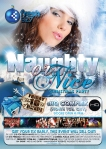 HQ Complex Fresh 957 Naughty Or Nice Christmas Party Flyer Design Australia
