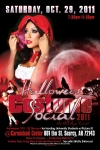 Halloween Flyer Design Arkansas Little Red Riding Hood Version