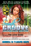 Flyer Design for Smooth Groove Homecoming Event South Beach Florida