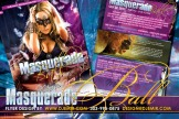 Masquerade Ball Flyer Design